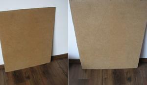 KROK I – Szkicowanie stożka na sklejce