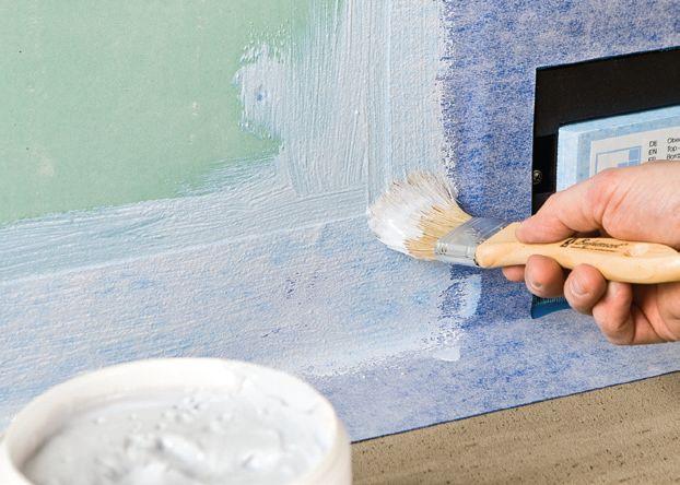 Etap XVII - Malujemy ściany folią w płynie