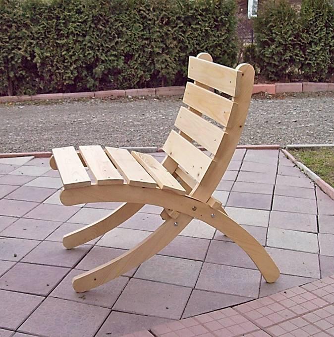 Nowoczesne krzesło ogrodowe